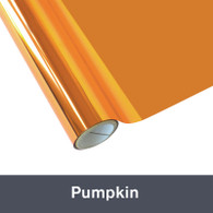 "Pumpkin Textile  Foil 12"" x 1 yd"