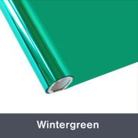 "Wintergreen Textile  Foil 12"" x 1 yd"