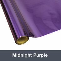"""Midnight Purple Textile  Foil 12"""" x 1 yd"""