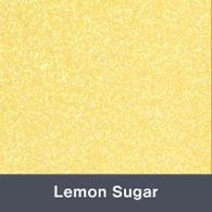 "Iron-on Lemon Sugar Glitter 19.75"" x 12"""