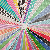 """*OUR Choice Pattern Vinyl Pack 12""""x12"""""""