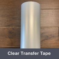 """Transfer Tape Roll  Medium Tack Clear 12""""x50 yd"""