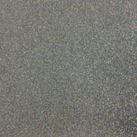 """Iron-on Silver Confetti Glitter 19.75"""" x 36"""""""