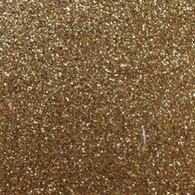 """Iron-on Old Gold Glitter 19.75"""" x 36"""""""