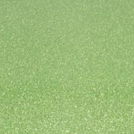 "Iron-on Light Green Glitter 19.75"" x 36"""