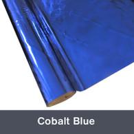 """Cobalt Blue Textile  Foil 12"""" x 1 yd"""