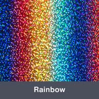 """Rainbow Holographic 9.875"""" x 12"""""""