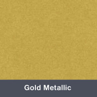 Iron-on Gold Metallic TurboFlex
