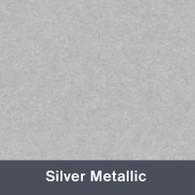 Iron-on Silver Metallic TurboFlex