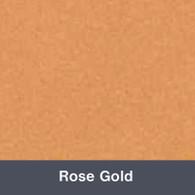 Iron-on Rose Gold TurboFlex