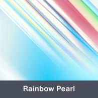 "Rainbow Pearl Holographic 9.875"" x 12"""