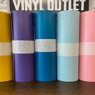 "Grab Bag Vinyl (Matte) 12"" x 10yd Roll - Multiple Colors Available"