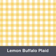 Lemon Buffalo Plaid