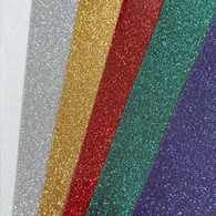 "Grab Bag 10""x 12"" Glitter Heat Transfer- Sold by the Individual Sheet"