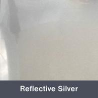 "Iron-on Reflex Silver (Reflective) 10"" x 12"""