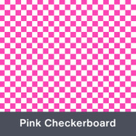 Pink Checkerboard