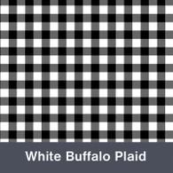 "Black & White Buffalo Plaid MATTE Permanent  Vinyl 12""x  12"""