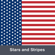 "Stars and Stripes  MATTE Permanent  Vinyl 12""x  12"""