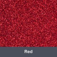 "HTV Red Glitter 19.75"" x 12"""