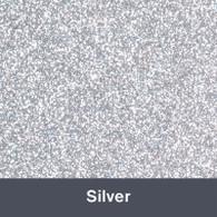 "HTV Silver Glitter 19.75"" x 12"""