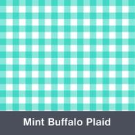 Mint Buffalo Plaid