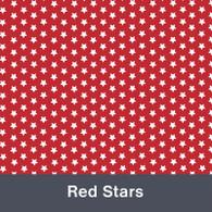 "Red Stars  MATTE Permanent  Vinyl 12""x  12"""