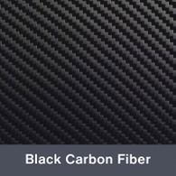 Black Carbon Fiber Iron-on