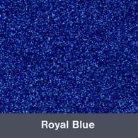 "Royal Blue Glitter 19.75"" x 12"""
