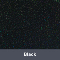 "Iron-on Black Holographic 9.875"" x 12"""""