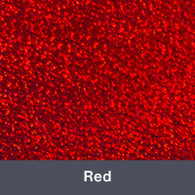 """Iron-on Red Holographic 9.875"""" x 12"""""""