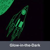 """Glow-in-the-Dark Vinyl 12""""x24"""""""