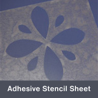 """Polycarbonate Stencil Sheet 12""""x24"""""""