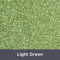 "Iron-on Light Green Glitter 19.75"" x 12"""