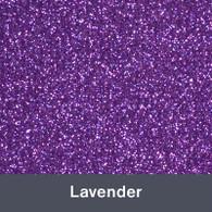 "Iron-on Lavender Glitter 19.75"" x 12"""