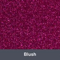 """Iron-on Blush Glitter 19.75"""" x 12"""""""