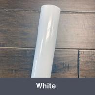 """White (Gloss) 12"""" x 5yd"""