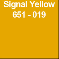"Signal Yellow (Gloss) 12"" x 5yd"