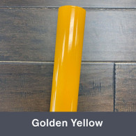 """Golden Yellow (Gloss) 12"""" x 5yd"""