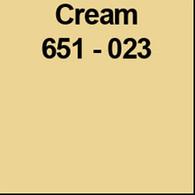 "Cream (Gloss) 12"" x 5yd"