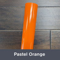 "Pastel Orange (Gloss) 12"" x 5yd"