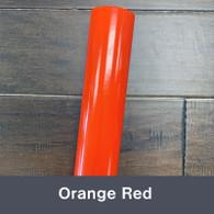 "Orange Red (Gloss) 12"" x 5yd"
