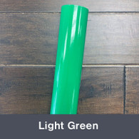 """Light Green (Gloss) 12"""" x 5yd"""