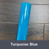 """Turquoise Blue (Gloss) 12"""" x 5yd"""