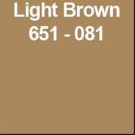 "Light Brown (Gloss) 12"" x 5yd"