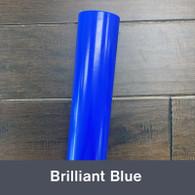 """Brilliant Blue (Gloss) 12"""" x 5yd"""