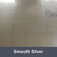 """Smooth Silver 12"""" x 24"""""""