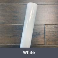 """White 751 (Gloss) 12"""" x 5yd"""