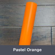 """Pastel Orange (Matte) 12"""" x 5yd"""