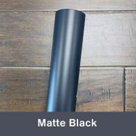 """Black (Matte) 12"""" x 5yd"""