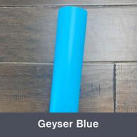 """Geyser Blue (Matte) 12"""" x 5yd"""